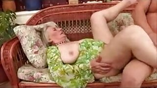 sexy video: Horny Granny in stockings gets fucked