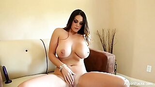 sexy video: Hot Comedian Alison Tyler Fingers Her Ass And Pussy