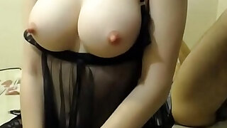 sexy video: Hot College Girl ass fucked on webcam