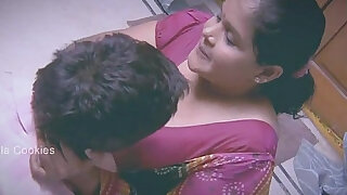 sexy video: Chubby Indian Lady busy with younger man