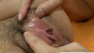 sexy video: Skinny and dirty Asian woman making out and hard deep anal fucked