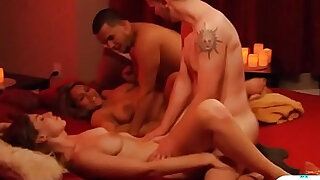 sexy video: Married couples orgy in Playboy house and enjoyed it