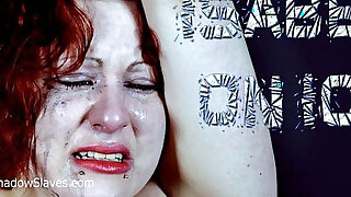 Isabels Deans whipping to tears and electro bdsm of crying amateur freak girl