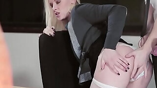 sexy video: Babes Office Obsession Lutro, Lola Taylor Necklace