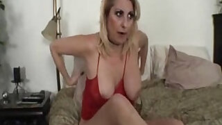 sexy video: Step mom gets fingered and fucked by her step son