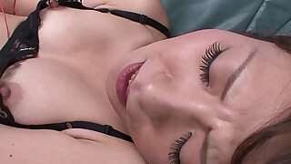 sexy video: Erika has a pink toy she uses on her hairy cunt