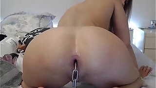 sexy video: Siswet unleas the beast anal sex with ass plug