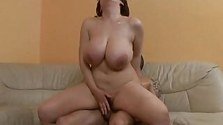 sexy video: Does anybody know the name of this big titted pornstar?