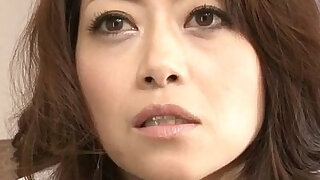 sexy video: Maki Hojo amateur with a masked stranger