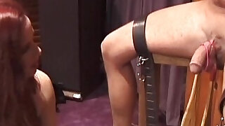sexy video: I am going to punish your balls to the limit