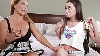 sexy video: Gia Page and her new mommy, Elexis Monroe! Mommys Girl