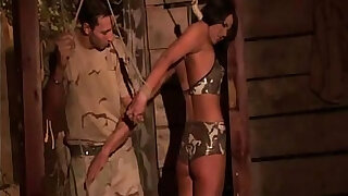 sexy video: Here youll be watching a brunette submissive th