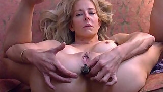 sexy video: Diana Love to bang hard ANAL cigar BLOOPER, from the archives