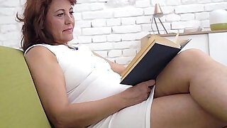 sexy video: Hot old and young lesbians Minnie Manga and Red Mary