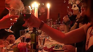 sexy video: Mature Swingers Dining and Feasting