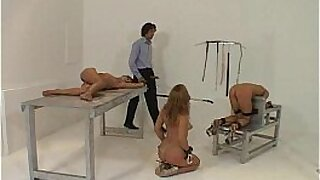 sexy video: Tied up and dominated pounded for man meat