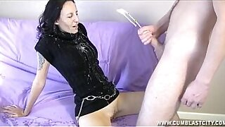 sexy video: Cum this small of my knacke!