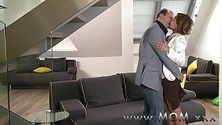 sexy video: Hot brunette mom with MILF cutie Lilla in movie