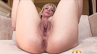 sexy video: He has a cool MILF buff dude humping him and fucking his clit rigidly hard