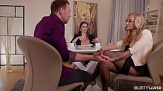 sexy video: Cathy Heaven Busty For her first Date