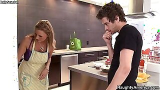 sexy video: Dirty step mom and pair of boyfriends