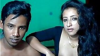 sexy video: Teeny Melagrin Indian couple in bukkake with men